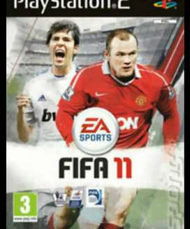 Fifa 11 PS2 game