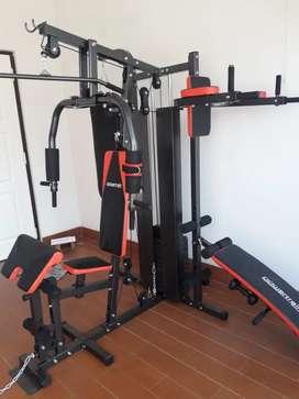 Home gym 3 sisi fitclass merah