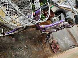 Ladies cycle miss india