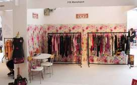 Need 2 female for a cloth exibition cum sale from 19-22 in indore .