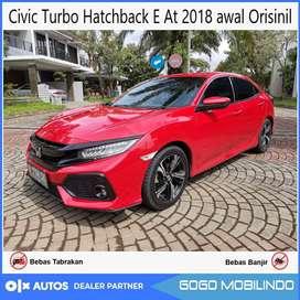 Civic Turbo Hatchback E At 2018 awal Orisinil Bisa Kredit