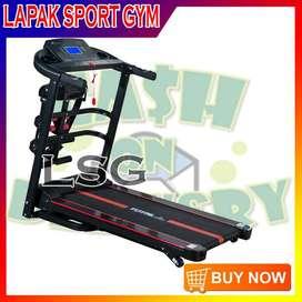 Alat Olahraga Fitness Treadmill Elektrik TL 618 4fungsi