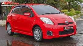 Toyota New Yaris 1.5 E AT 2013 Facelift Red On Black Full Original