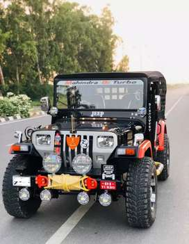 Modified open Hunters willys