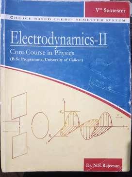 Electrodynamics II