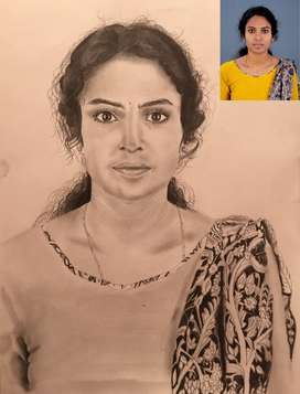 Any Pencil drawing portrait (realistic) drawing