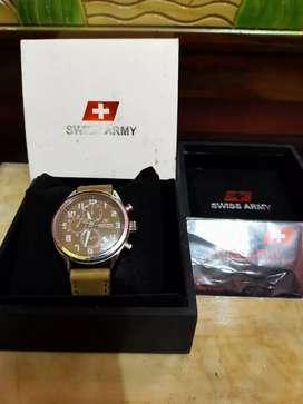 Dijual jam swiss army bekas