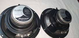 pioneer TS-2511 -10inches speakers non repaired