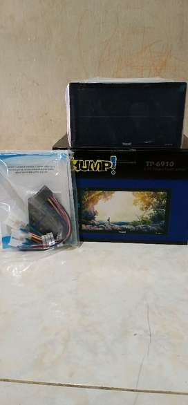 "head unit double din thump! layar fullglass 6,95""+kamera mndr+ pasang"