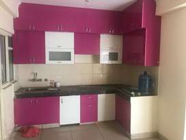 3 bhk semi furnished flat