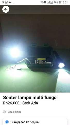 Lampu senter multifungsi