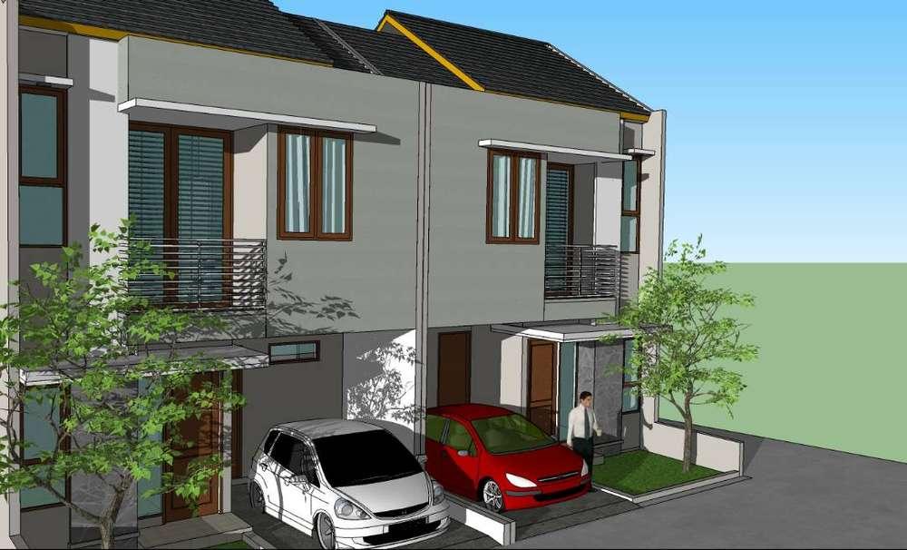 rumah tinggal baru atau rumah kost 2 lantai