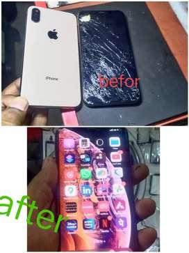Iphone x display replacement service repair