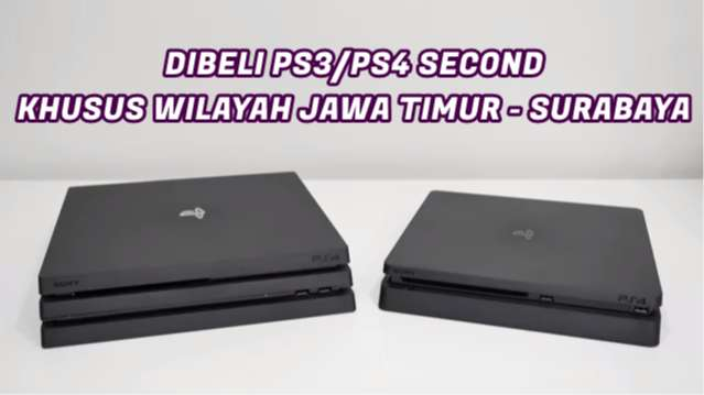 SIAP ANGKUT PS3/PS4/LAPTOP SECOND ANDA 0