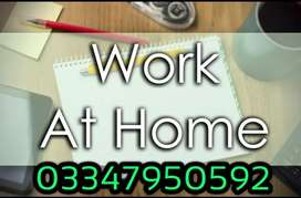Best job for works at home daily bases.