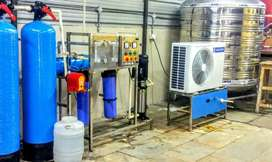 Brand new 1000lph ro water plant 113000/-