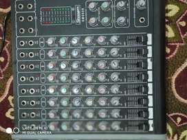 New mixer 8 chanel with eco with mid