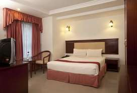 3 star hotel with restaurant and 23 rooms near medical trust MG road