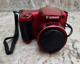 Canon SX Red colour with branded carry case.