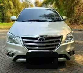 Toyota Innova V Luxury 2.0 MT tahun 2014 mobil siap pakai