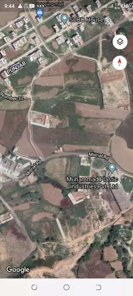 Commercial plot for sale near I-14 Islamabad .