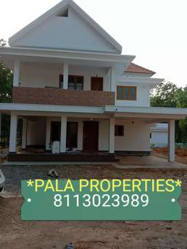 BEAUTIFUL BRAND NEW HOUSE SALE IN PALA PONKUNNAM HIGHWAY NEAR 500 MTR