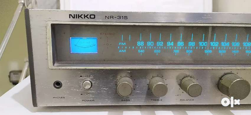 Vintage Nikko NR-315 stereo receiver working condition 0