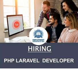 PHP LARAVEL  DEVELOPER (MALE/FEMALE)