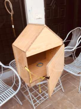 Cat dog  kitten puppy house of wood almost new