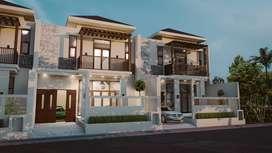 Rumah mewah/komersil harga murah tipe 128