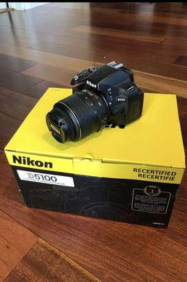 Nikon D5100 Camera with 18-55mm Lens