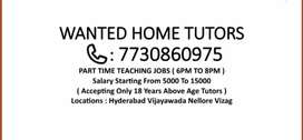 M1 Wanted Home Tutors For BTECH and INTER MPC