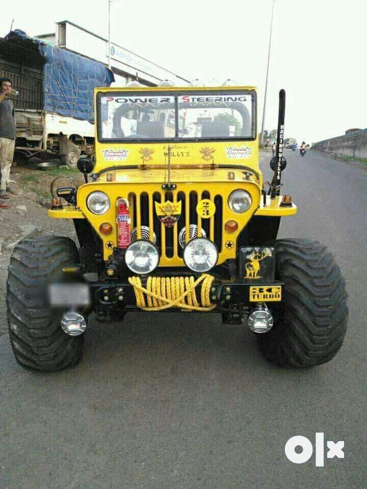 Stylish willy yellow jeep 0