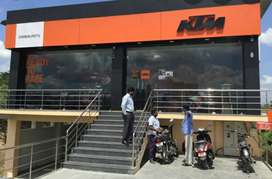 Urgent requirement for KTM Showroom