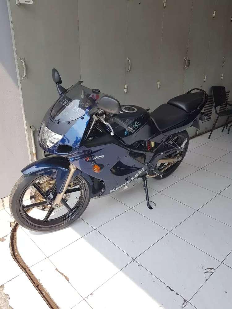 Jual Ninja RR 2009 Navy Blue