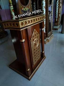 Ready Mimbar Musholla Kerajinan Jepara @925