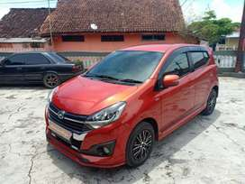 Ayla R deluxe 1.2 matic (km 22 rb) Nego