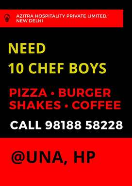Chef for Quick Service Restaurent