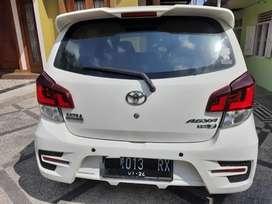 Toyota AGYA type G putih
