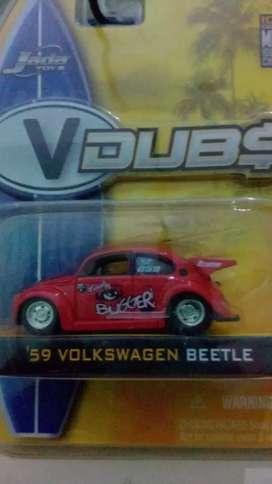 Volkswagen beetle drag bus red(82)