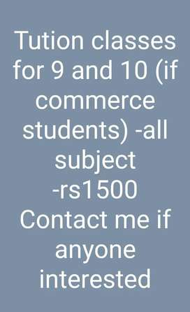 I'm in need of students contact me for further details