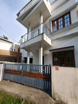 Ready to occupy 3 bhk 1200 sqft house at varapuzha near kongorpilly