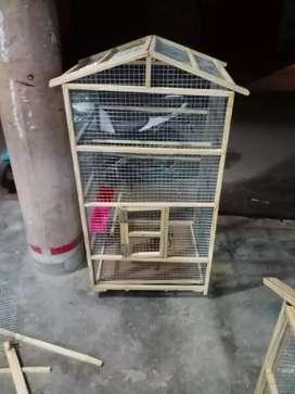 Bird cage fish cue
