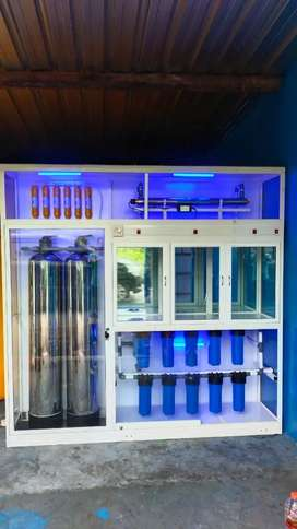 Mesin air isi ulang bio energi