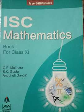 ISC Mathematics Class 11 Op malhotra