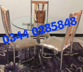 Sg6g dining table set round square 4,6 chair makr bed sofa almari rack