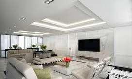 pembuatan atap plafon minimalis modern , baja ringan truss mahesa