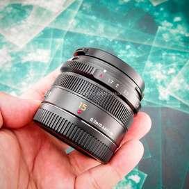 Panasonic Leica DG Summilux 15mm F1.7 ASPH. Mulus. Murah