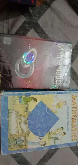 Maths NCERT and RS.Aggarwal for class 9