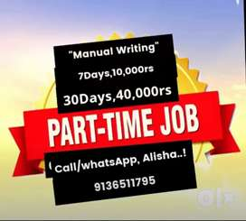 Time to get extra income at home based jobs  Part time job